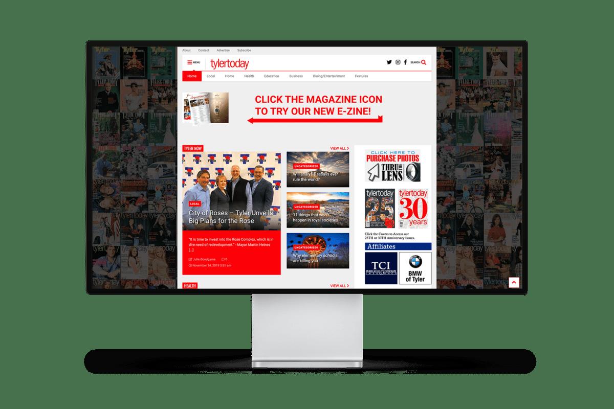 TylerTODAY Website Design