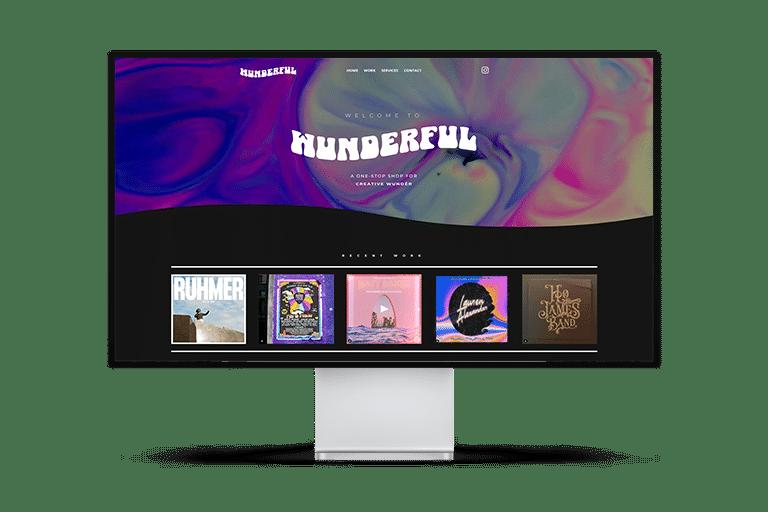Wunderful Design Website Design