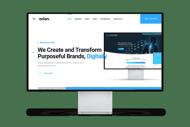 Orion Web Design Website Design